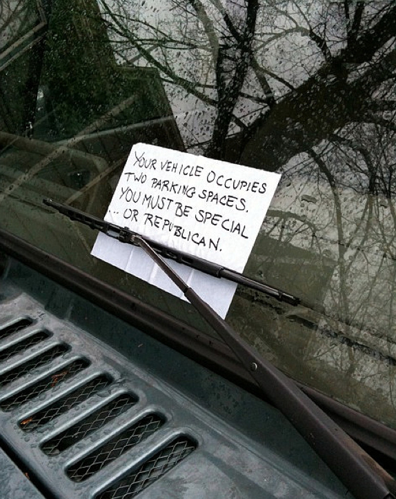 Funny Windshield Notes For Bad Parking - 23