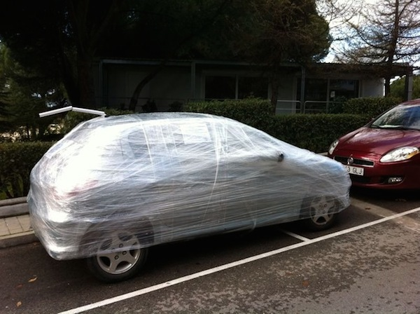 Funny Windshield Notes For Bad Parking - 8