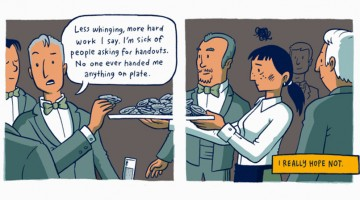 This Brilliant Comic Strip On Rich Vs Poor Upbringing Will Humble You