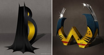 From A To Z, These Superhero-Themed Alphabets Are Pure Awesome