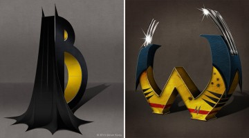 These Superhero-Themed Alphabet Designs Are Pure Awesome