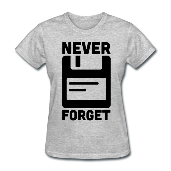 Buy T-Shirts For Graphic & Web Designers - Never Forget