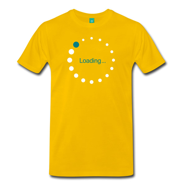 Buy T-Shirts For Graphic & Web Designers - Loading