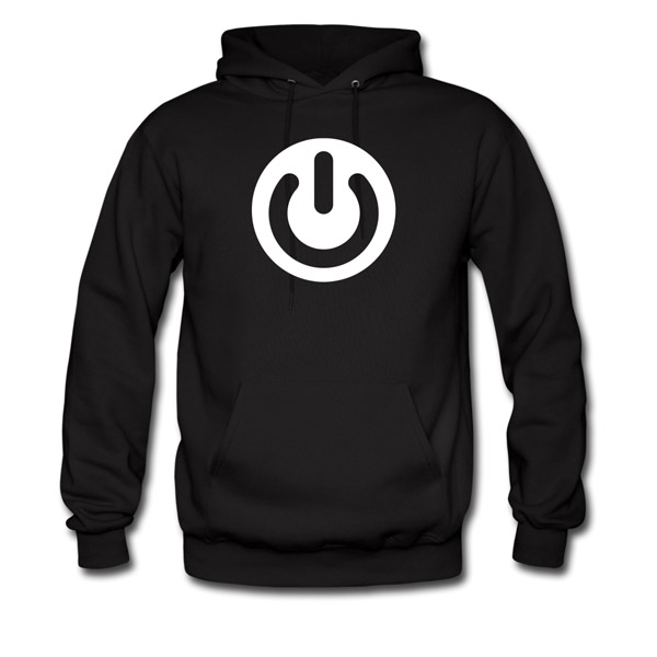 Buy T-Shirts For Graphic & Web Designers - Power Button