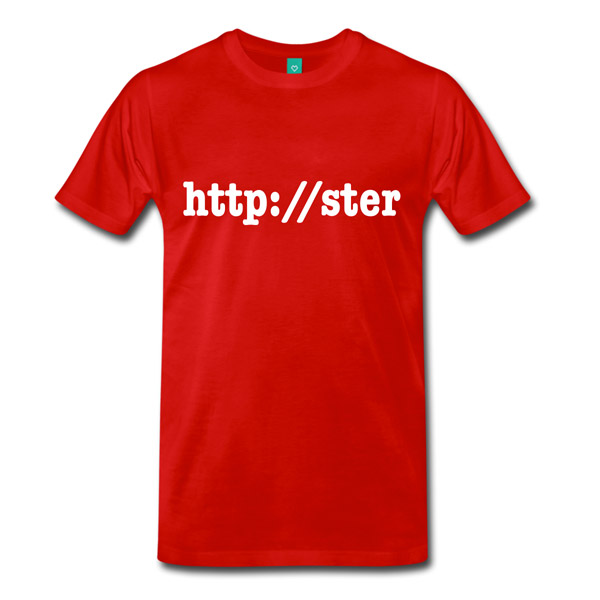 Buy T-Shirts For Graphic & Web Designers - httpster