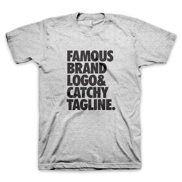 Buy T-Shirts For Graphic & Web Designers - Famous Brand Logo & Catchy Tagline