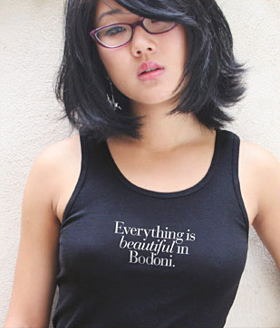 Buy T-Shirts For Graphic & Web Designers - Everything is beautiful in Bodoni