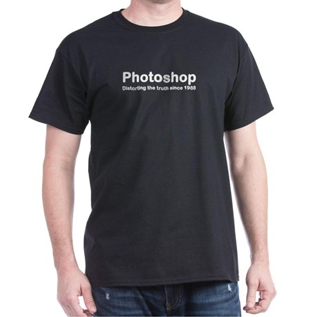 Buy T-Shirts For Graphic & Web Designers - Photoshop: Distorting Truth Since 1988