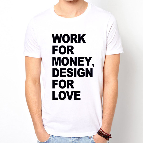b3a2f4b33 Buy T-Shirts For Graphic & Web Designers - Work for money, design for