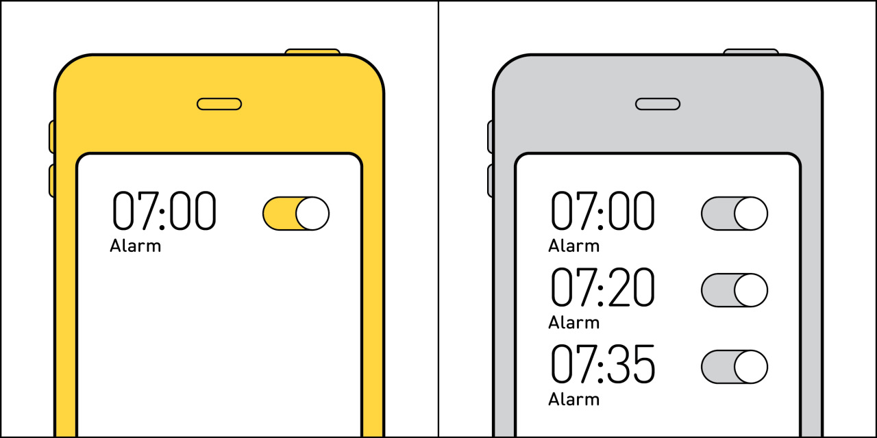 Two kinds of people - Alarm