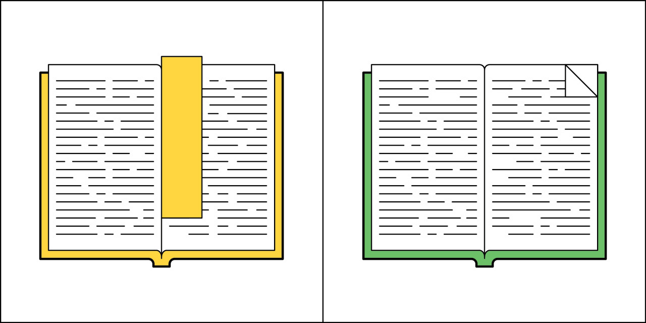 Two kinds of people - Bookmark