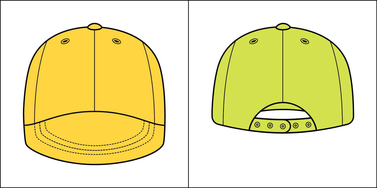 Two kinds of people - Hat Front vs. Back