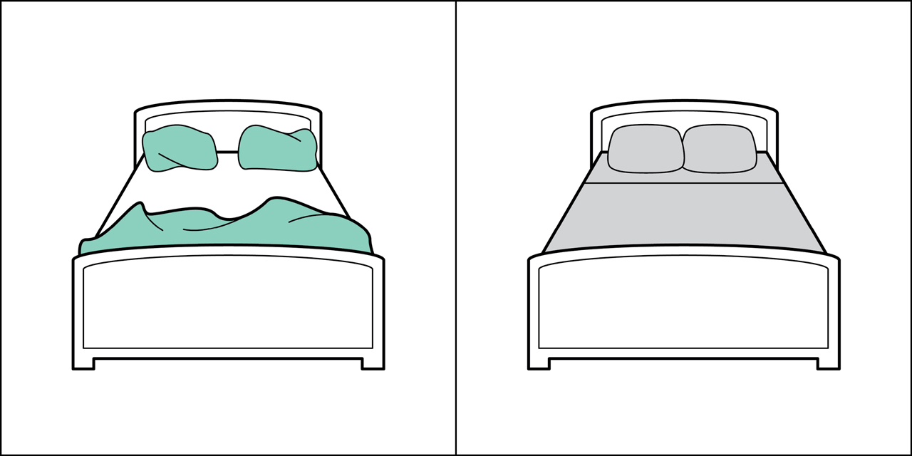 Two kinds of people - Bed