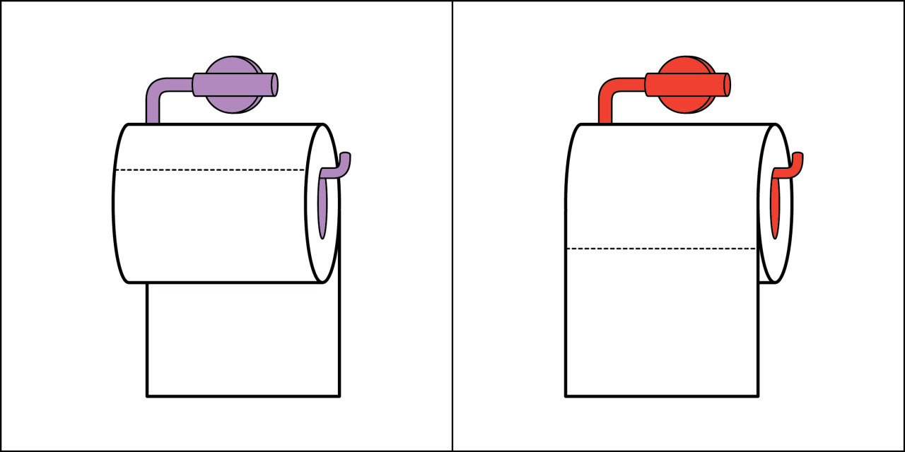 Two kinds of people - Toilet Roll