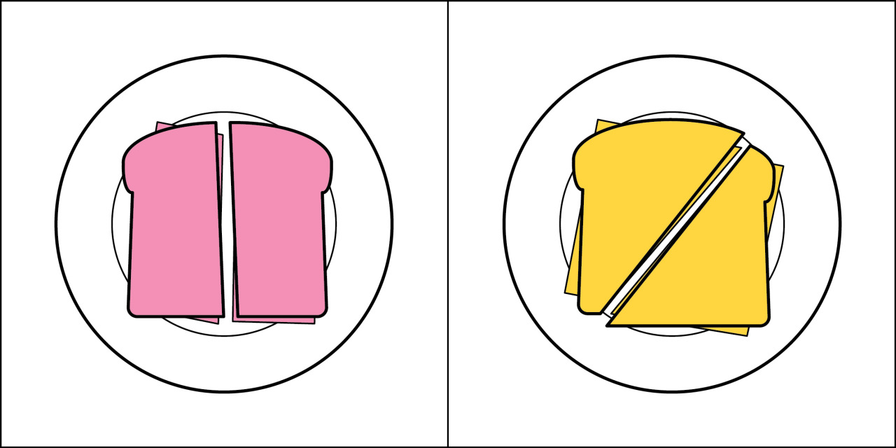 Two kinds of people - Sandwich
