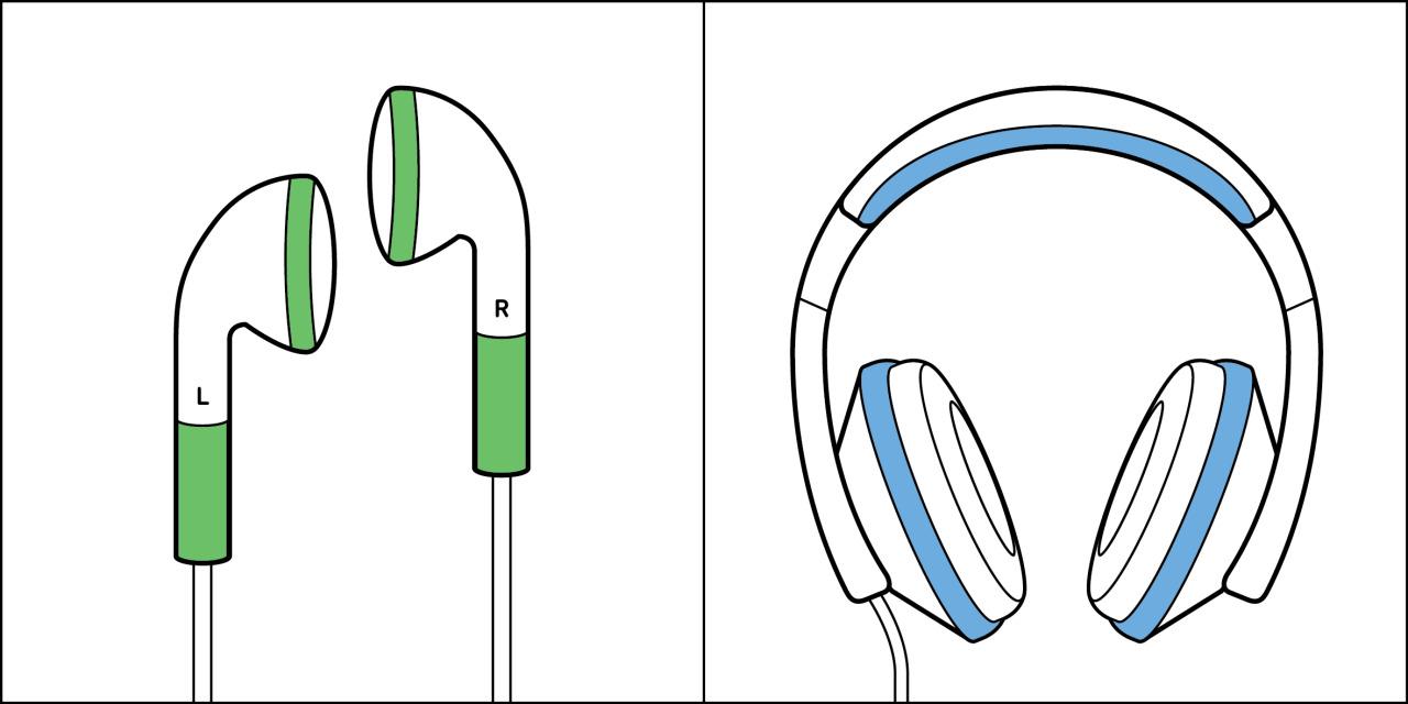 Two kinds of people - Earphones vs. Headphones