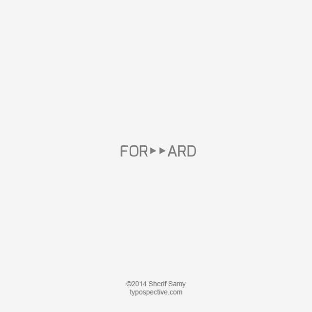 Minimal Type Art Using Letters, Symbols On Mobile Keypad - Forward