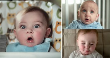 10 Babies Show Off Their 'Pooface' In This Epic Pampers Ad That'll Make You Laugh