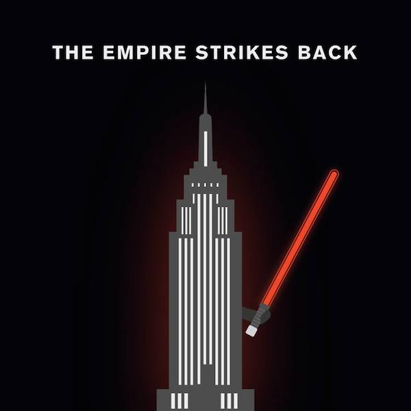 'The Empire Strikes Back' by Punny Pixels, an illustrated series of visual puns.