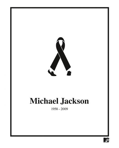 MTV Networks: Black Ribbon Michael Jackson
