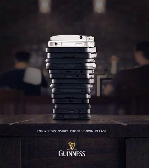Guinness: Phones Down