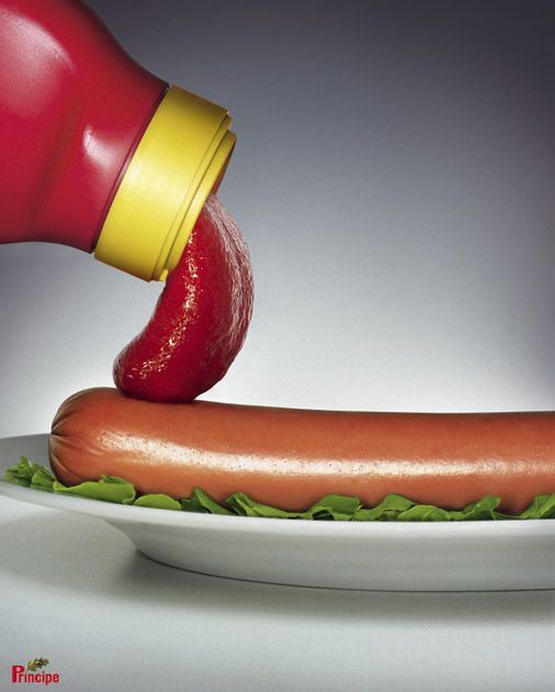 Principe Ketchup: Hot Dog