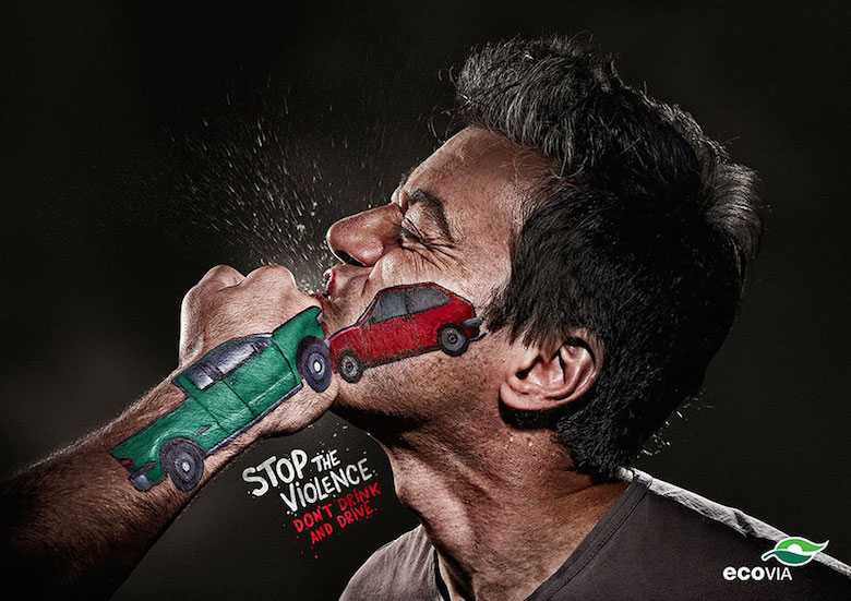 Ecovia: Stop the Violence, Don't drink and drive