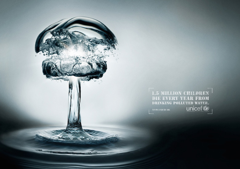 Unicef: Water Bomb