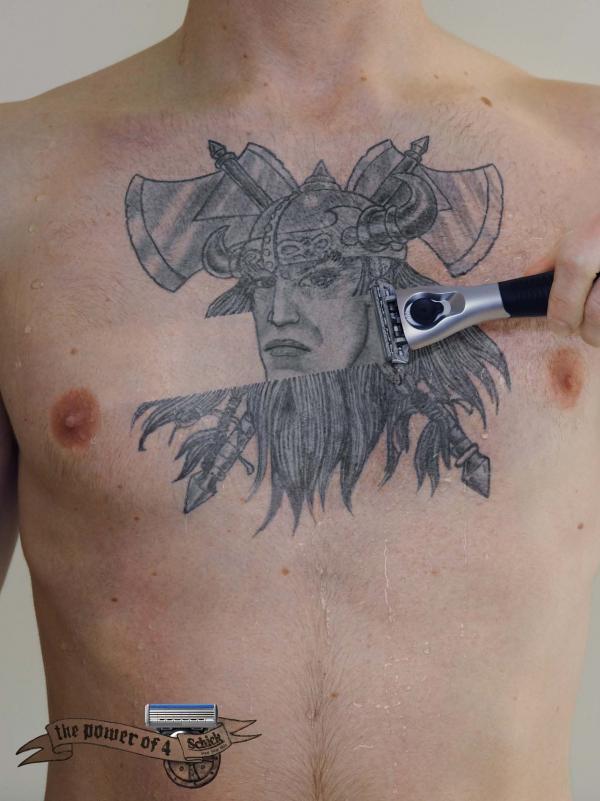 Schick Quattro Razor: Tattoo 3