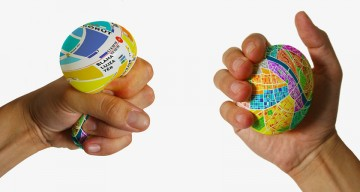 Design Student Creates Stress Ball Map That You Can Squeeze To Zoom In