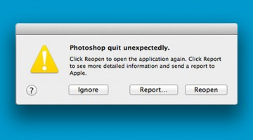 LOL: 13 Error Messages Every Designer Hates After A Long Day's Work