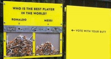 Vote With Your Butt – Here's A Genius Idea To Stop People From Littering Cigarettes