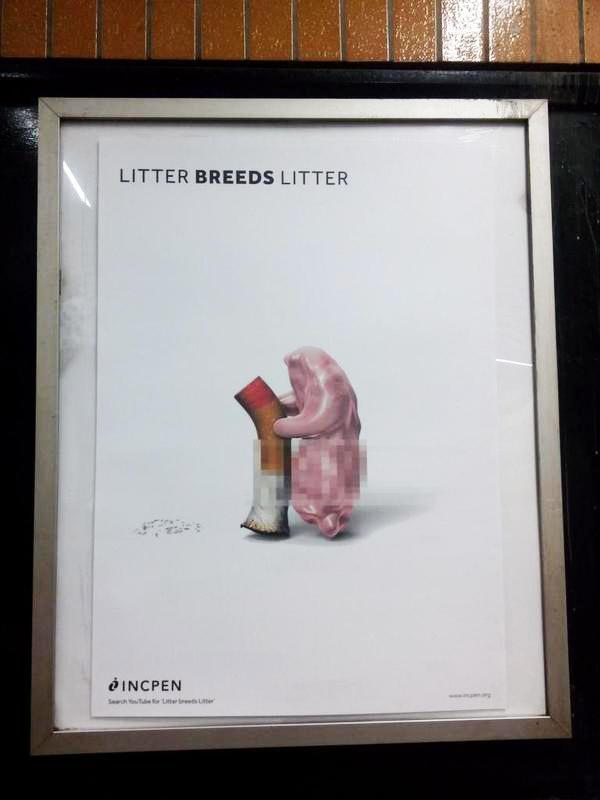 Litter breeds litter