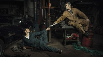 Auto Mechanics Recreate Famous Renaissance Paintings In This Hilarious Photo Series By Freddy Fabris