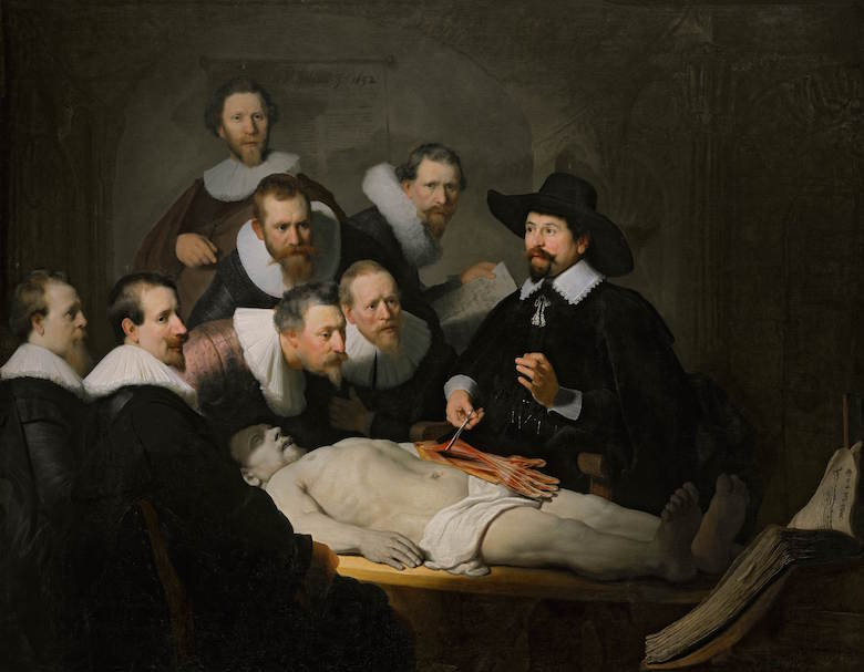 The Anatomy Lesson by Rembrandt