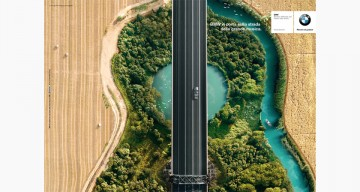 Beautiful BMW Ads Show Aerial View Of Roads That Look Like Guitars And Violins