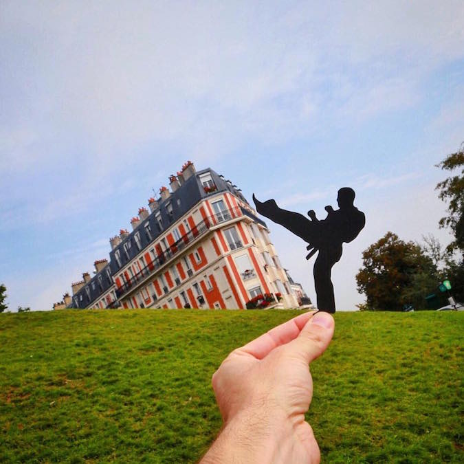 Artist Uses Paper Cut-Outs To Transform Famous Landmarks Into ...