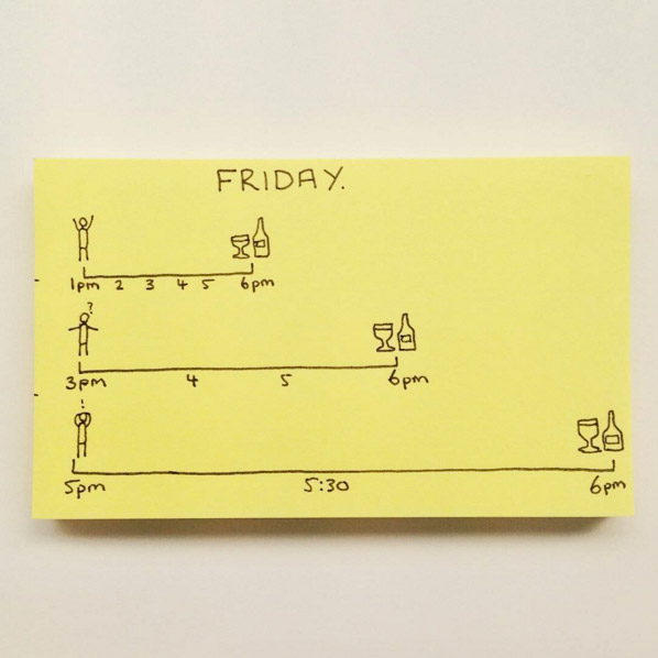 Funny Everyday Life Graphs & Drawings By Chaz Hutton - 11