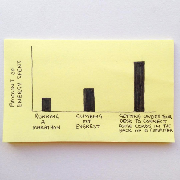 Funny Everyday Life Graphs & Drawings By Chaz Hutton - 6