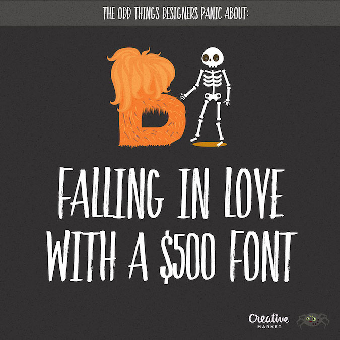 Designer Fears Expensive Fonts