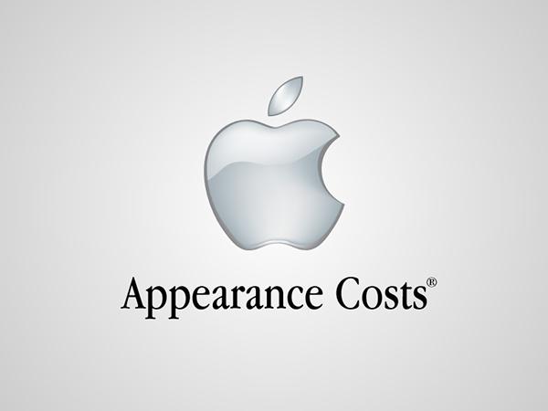 Funny, honest logos - Apple