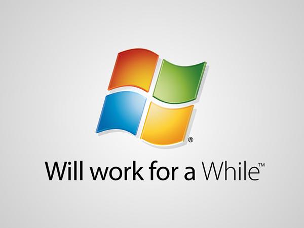 Funny, honest logos - Windows