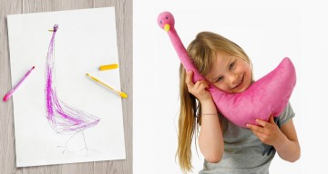 IKEA Turned Children's Drawings Into Real Soft Toys To Raise Money For Charity