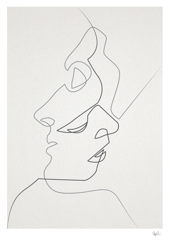 Simple Definition Of Line In Art : Amazing one line illustrations made with a single
