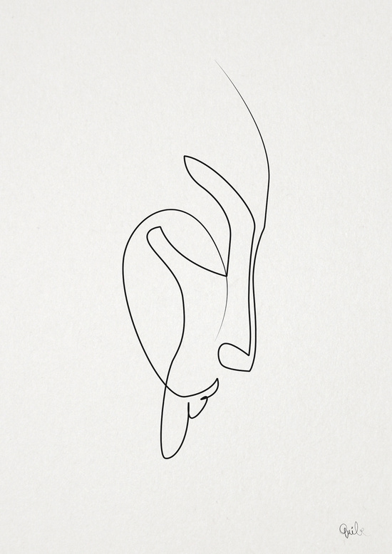 Single Line Unicode Art : Amazing one line illustrations made with a single