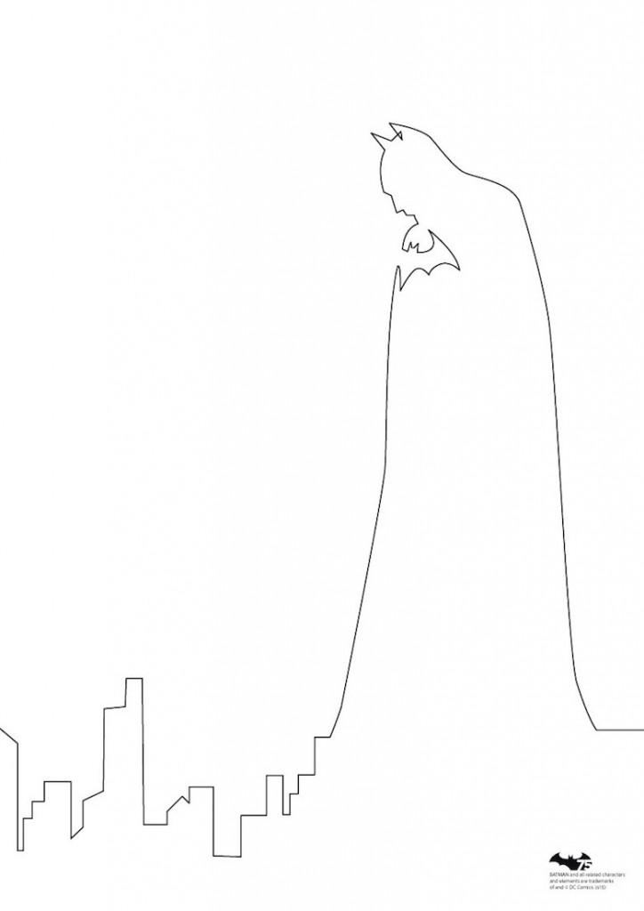 Quibe One Line Minimal Illustrations - Batman