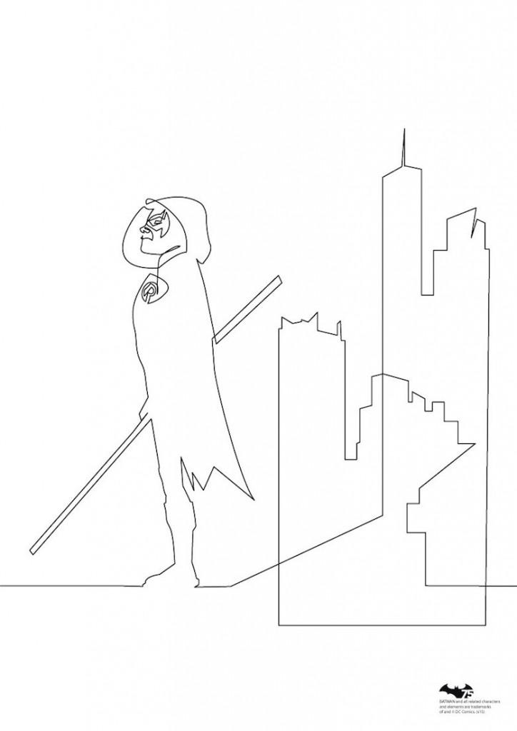 Quibe One Line Minimal Illustrations - Robin