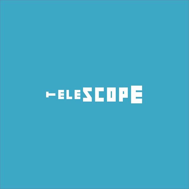 Clever Typographic Logos - Telescope