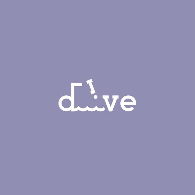Clever Typographic Logos - Dive
