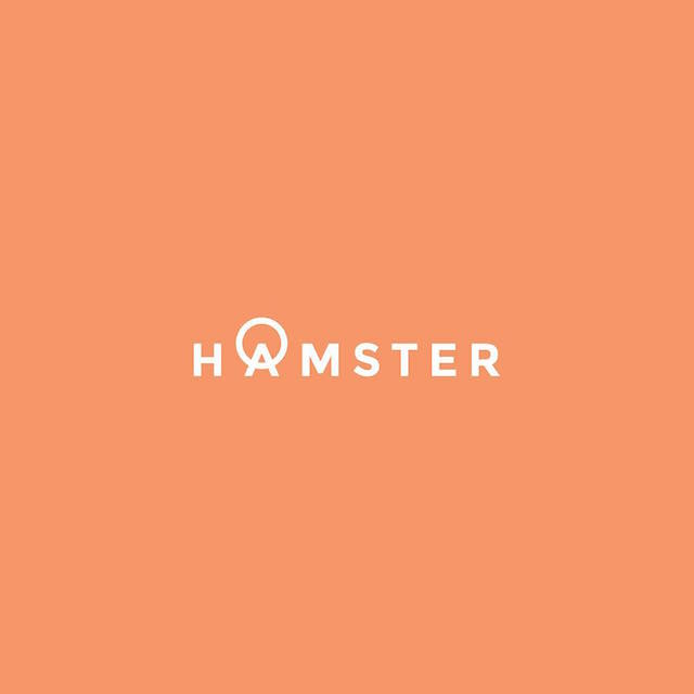 Clever Typographic Logos - Hamster